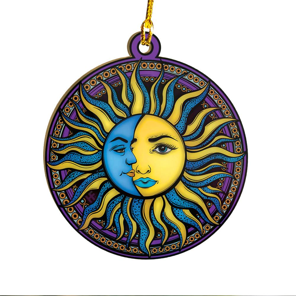 Hippie The Sun And The Moon EZ25 0312 Ornament