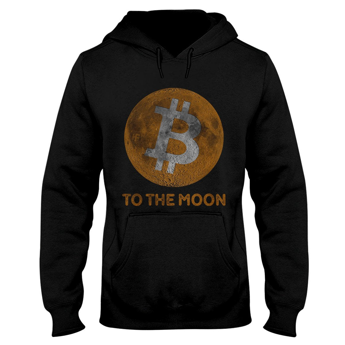 Bitcoin To The Moon Cryptocurrency EZ20 0902 Hoodie