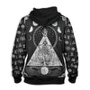 Horned God Cernunnos Wicca EZ19 1510 All Over Print Hoodie