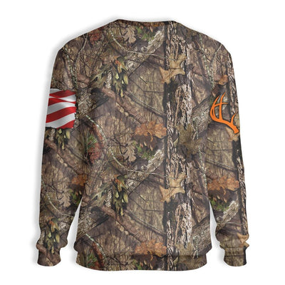 Hunting Weekend Plan EZ26 1410 All Over Print Sweatshirt