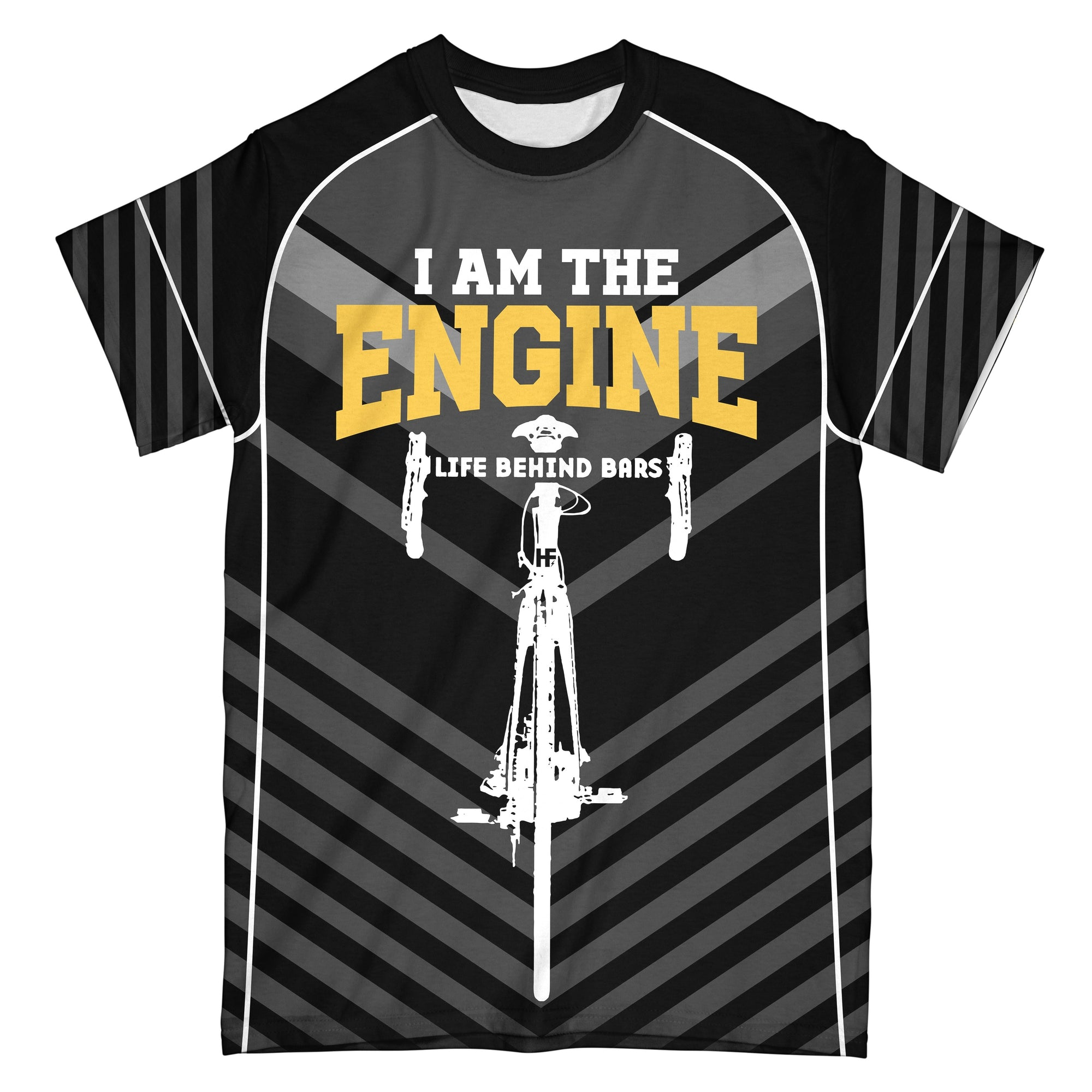 I Am The Engine EZ05 0610 All Over T-Shirt