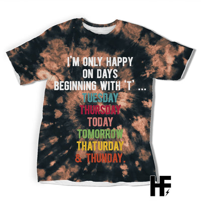 I'm Only Happy EZ06 2003 All Over T-Shirt