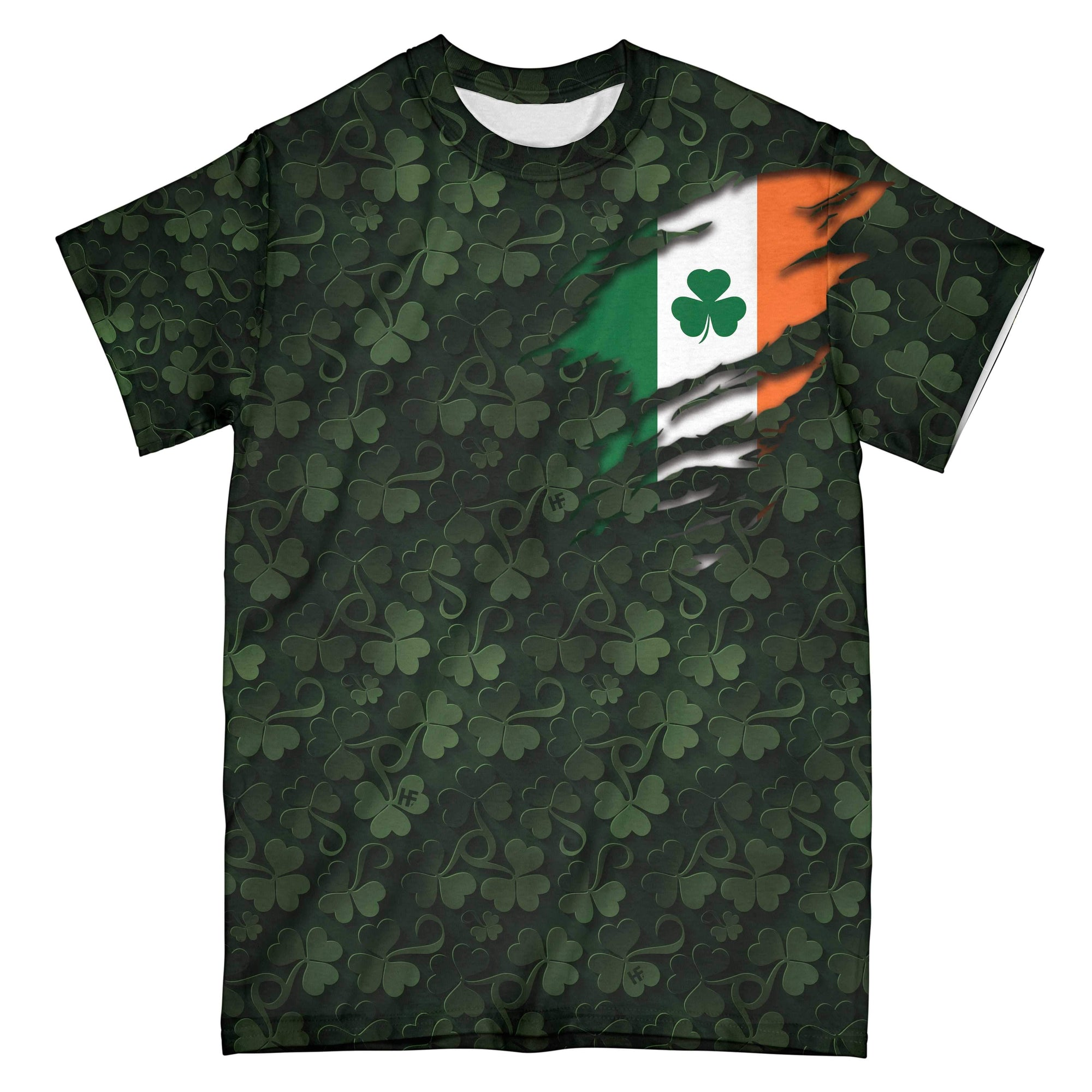 Irish By The Grace Of God Shamrock EZ12 2601 All Over Print T-shirt