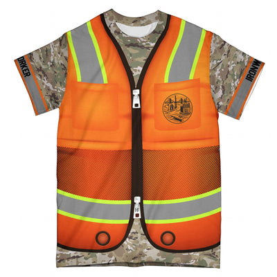 Ironworker v2 EZ15 2608 All Over T-Shirt