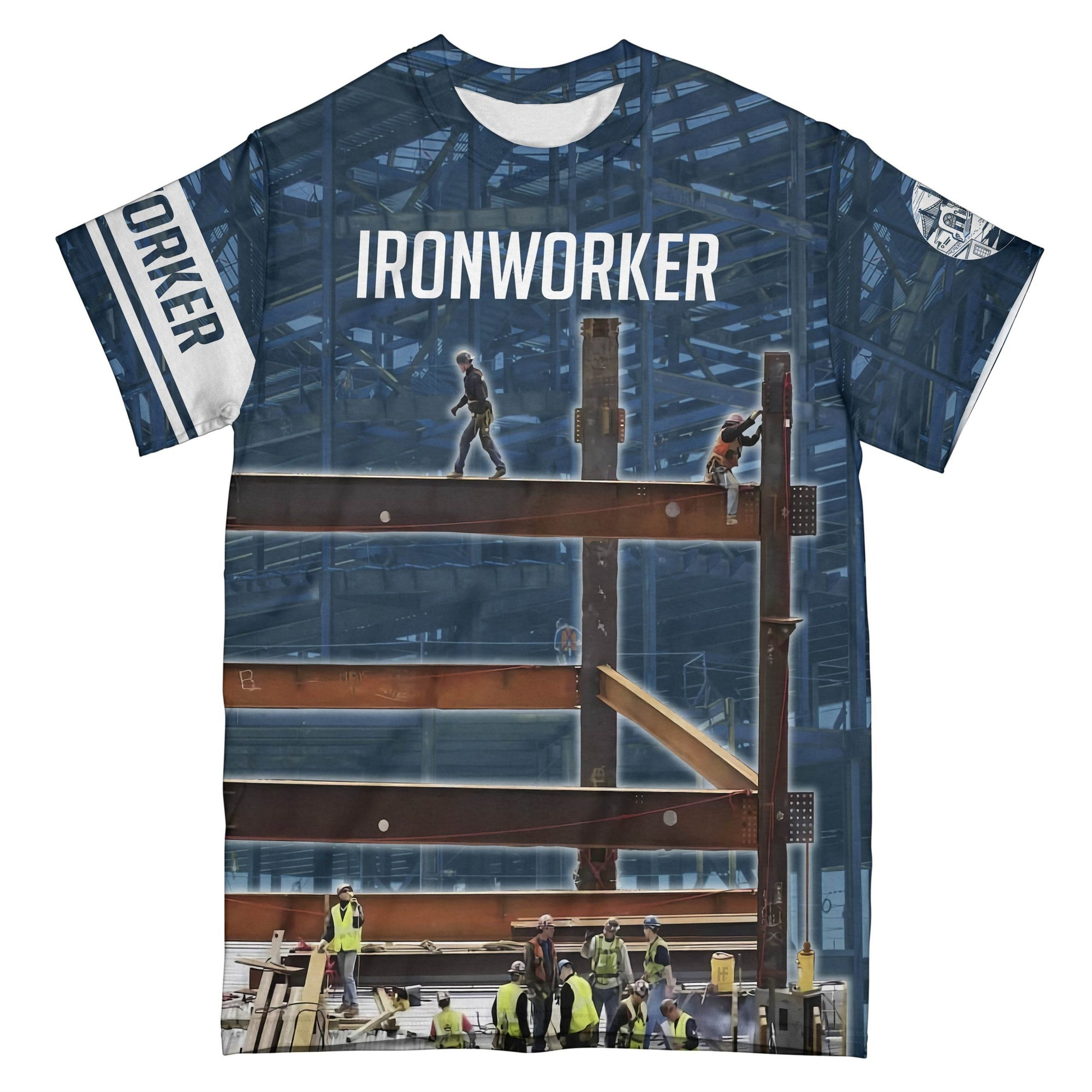 Ironworker v5 EZ15 2608 All Over T-Shirt