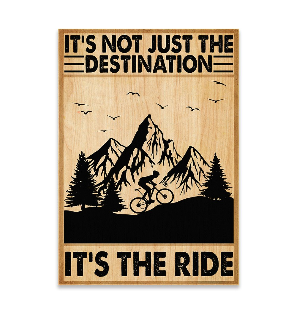 It's Not The Destination It's The Ride EZ22 2811 Canvas