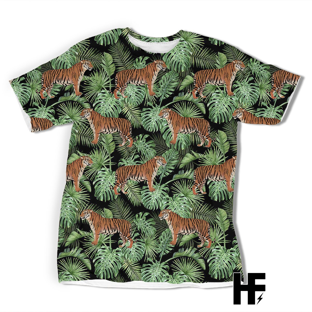 Jungle Tiger EZ10 1003 All Over T-Shirt