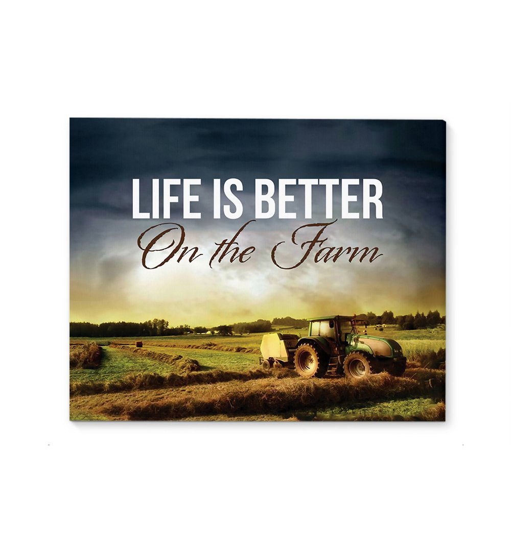 Life Is Better On The Farm EZ12 0110 Canvas