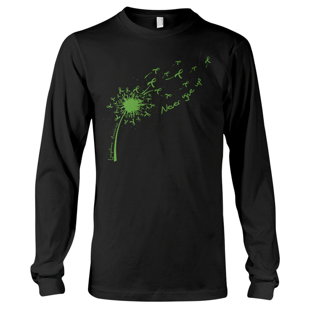 Dandelion Lymphoma Awareness EZ20 3012 Long Sleeve T-Shirt