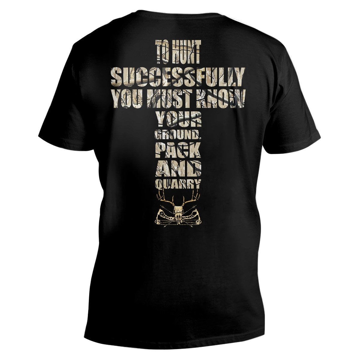To Hunt Successfully EZ26 2312 Men V-neck T-shirt