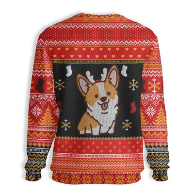 Merry Corgmas EZ05 1310 All Over Print Sweatshirt