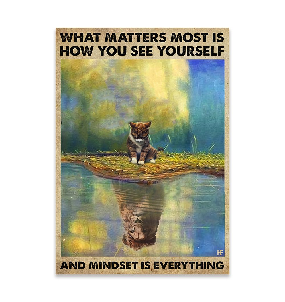 Mindset Is Everything EZ25 0810 Canvas