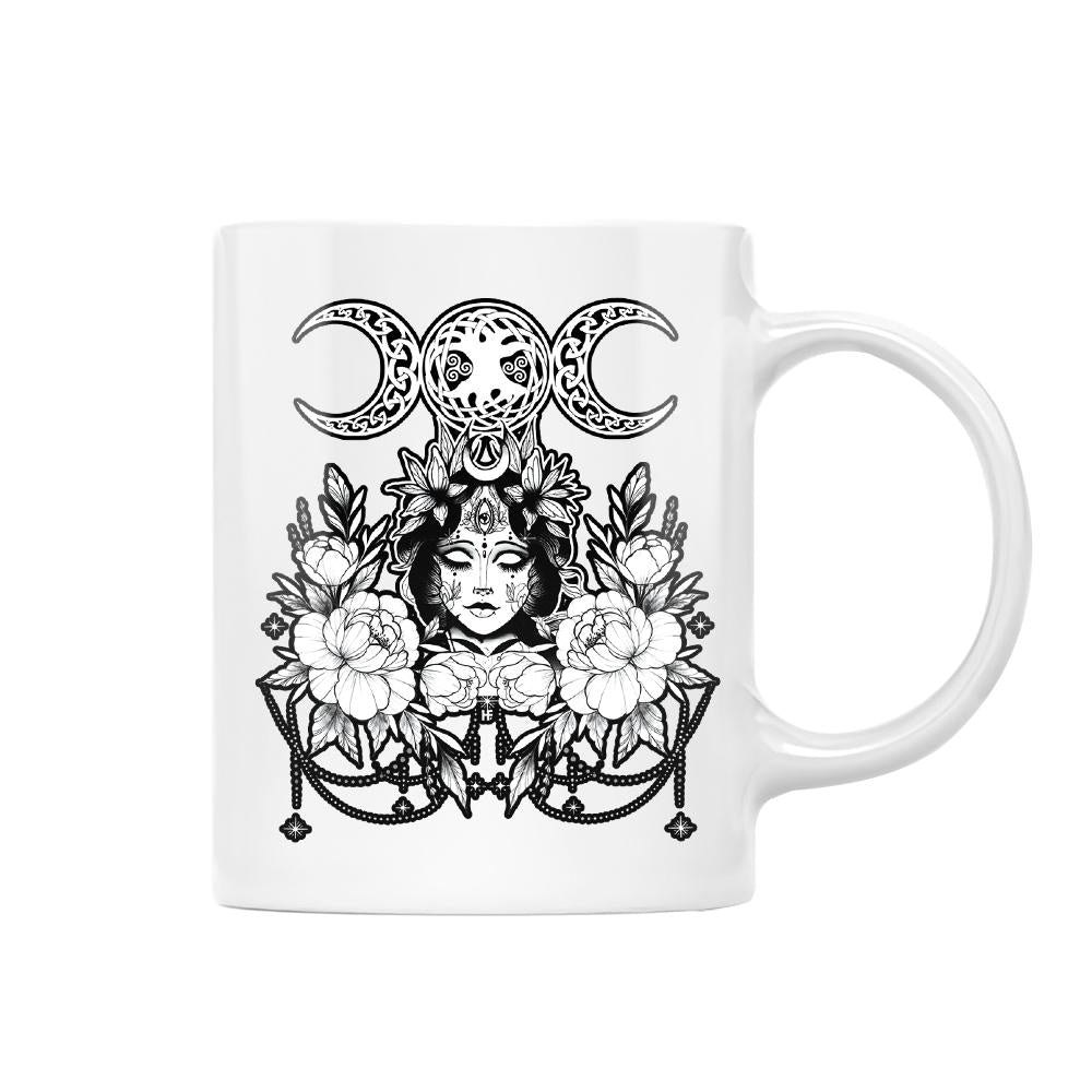 Nature Is My Church Origin Wicca EZ20 1012 White Mug