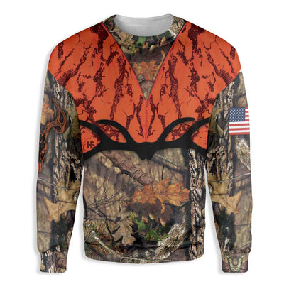 Orange Hunting EZ26 1510 All Over Print Sweatshirt
