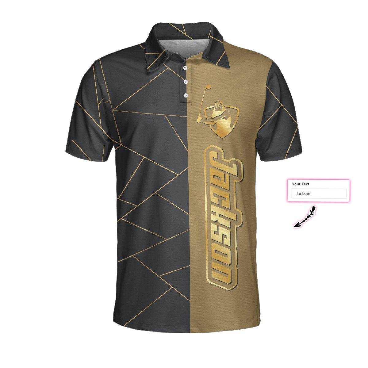 Personalized Golden Lines Golf EZ20 2503 Custom Polo Shirt