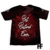 Red Blood Skull EZ09 1003 All Over T-shirt