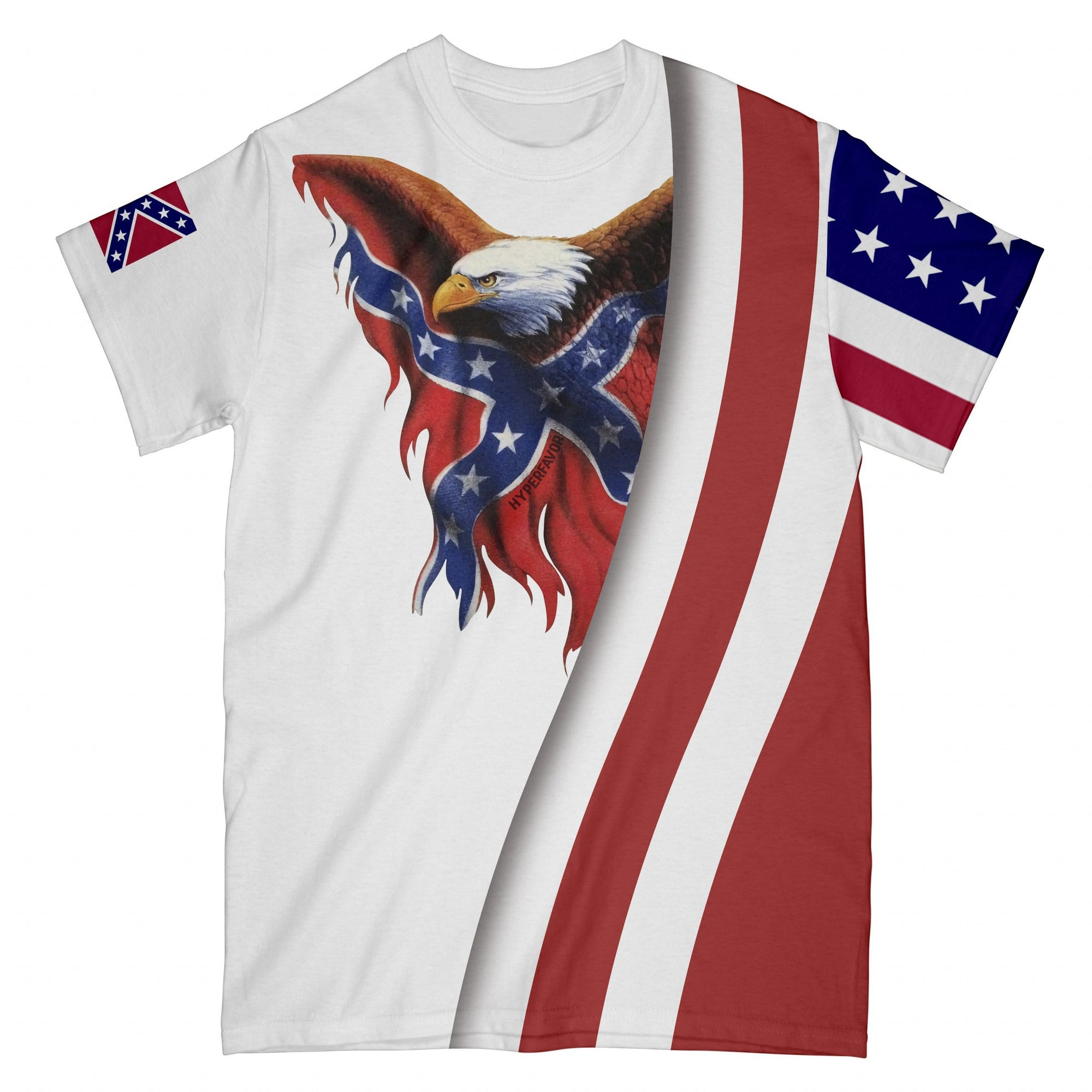 Redneck Eagle EZ08 2908 All Over T-shirt