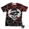 Skull Gangster EZ10 1703 All Over T-Shirt