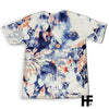Skull Of An Indian Warrior Nature Flower EZ06 1203 All Over T-Shirt