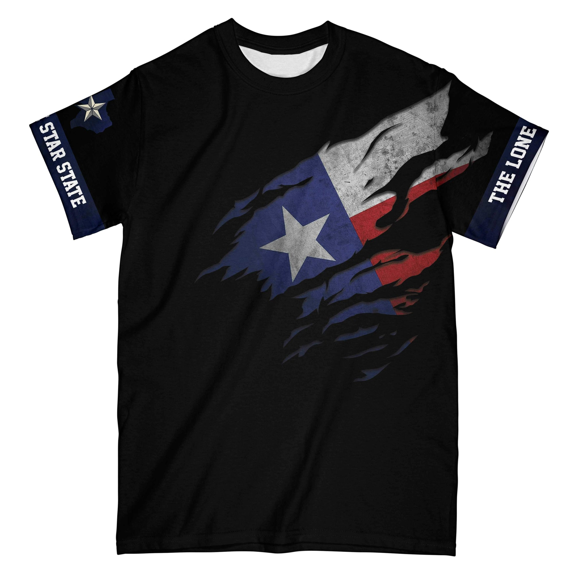 Texas The Lone Star State EZ16 0203 All Over Print T-Shirt
