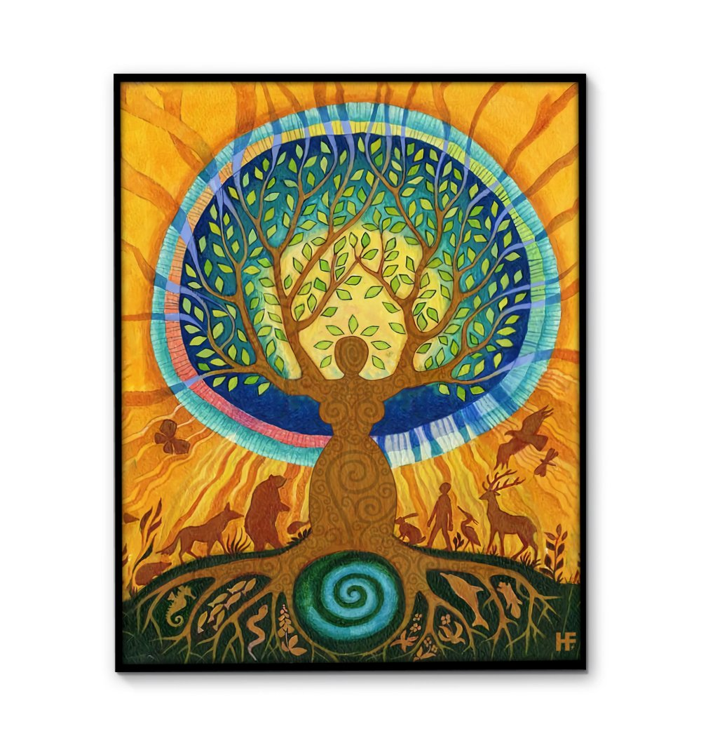 Tree Of Life V1 EZ22 0212 Canvas