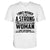 Strong Independent Woman EZ33 2302 Unisex V-neck T-shirt