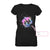Gymnastics Girl Purple Cloudy EZ09 0209 Custom Women V-neck T-shirt