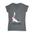 Unicorn Yoga Quarantine EZ06 1004 Women V-neck T-shirt