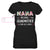Grandmother Is For Old Ladies EZ66 0604 Custom Women V-neck T-shirt