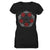Pentagram Red Rose Witch Wicca EZ20 1010 Women V-neck T-shirt