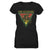 Think Less Ride More Mountain Biking EZ22 1510 Women V-neck T-shirt