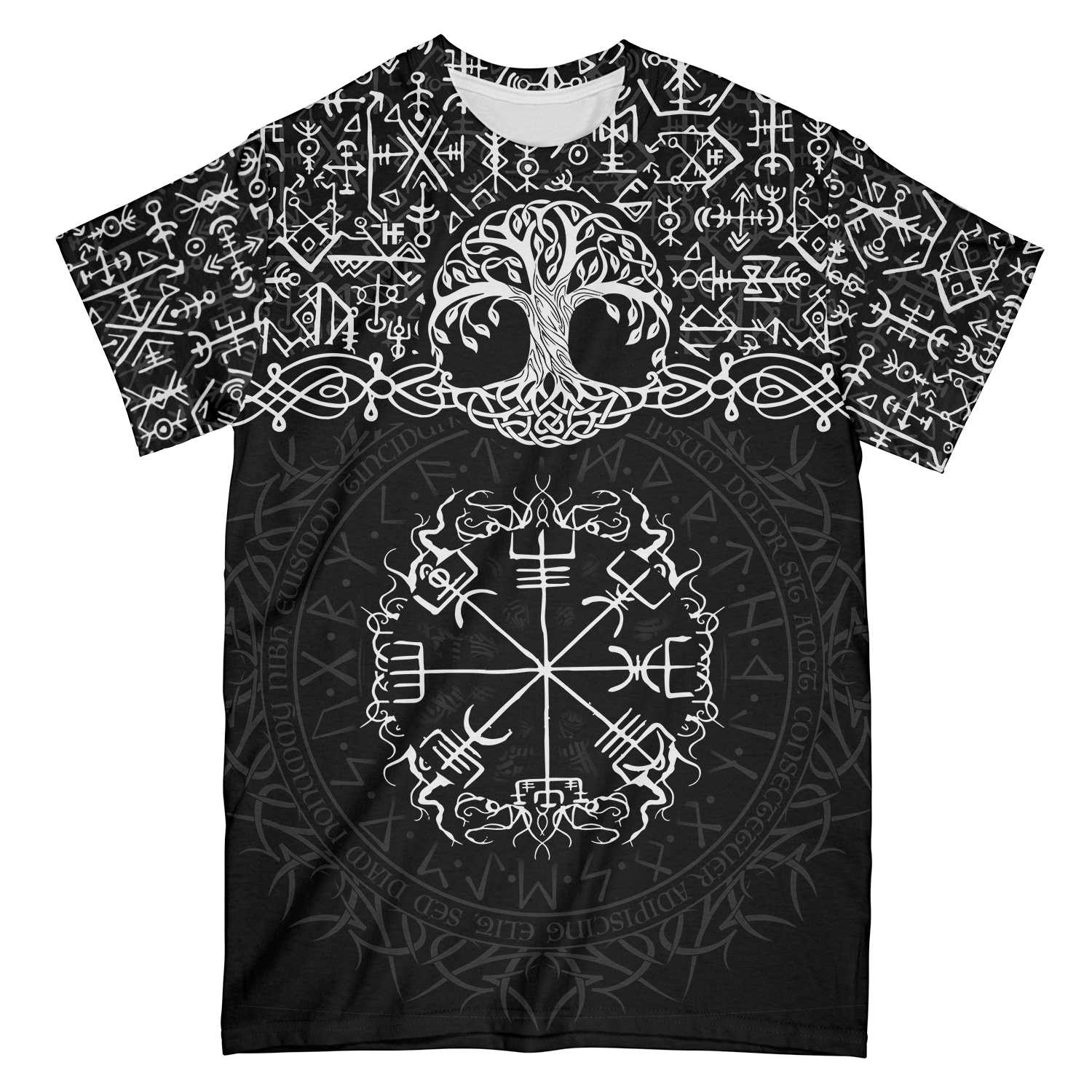 Yggdrasil Viking EZ22 2312 All Over Print T-shirt