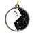 Yin Yang Cat Couple EZ21 3011 Ornament