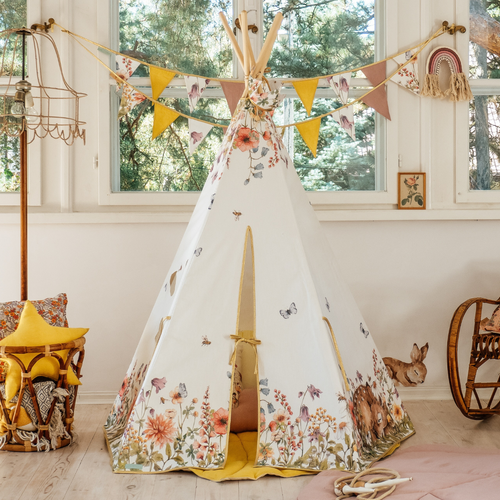 Wildflower Teepee
