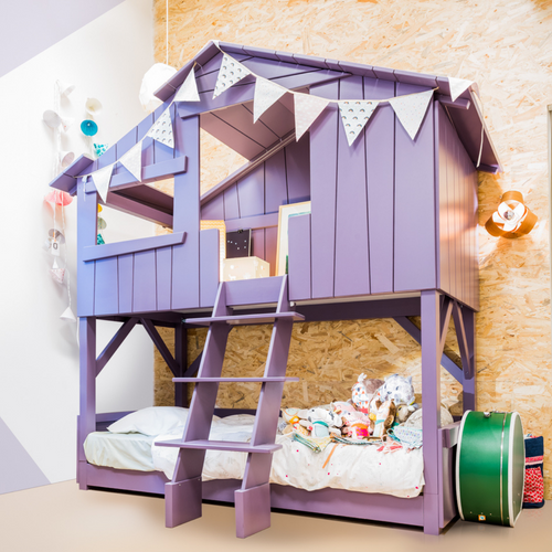 Treehouse Bunk Bed (colour options)