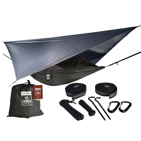 Oak Creek Lost Valley Camping Hammock Bundle