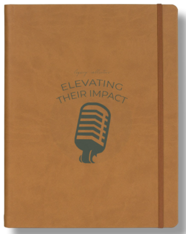Large Notebook w/ Elevating their Impact Logo