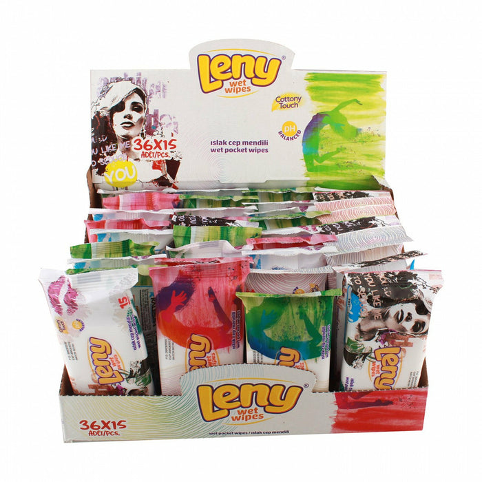 Leny Wet Wipes 3 Packs*15 Sheets