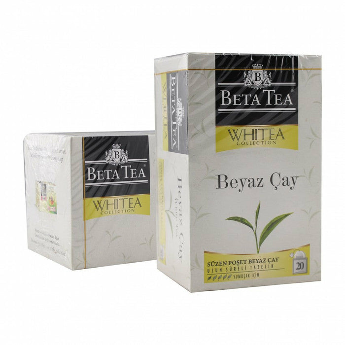 Beta White Tea Bags 20 Tea Bags