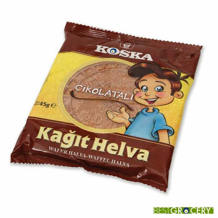 Koska Wafer with Cacao (Kagit Helva Kakaolu) 45 g