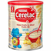 Nestle Cerelac Mixed Fruits Wheat With Milk Fruits Ble Et Lit 400g