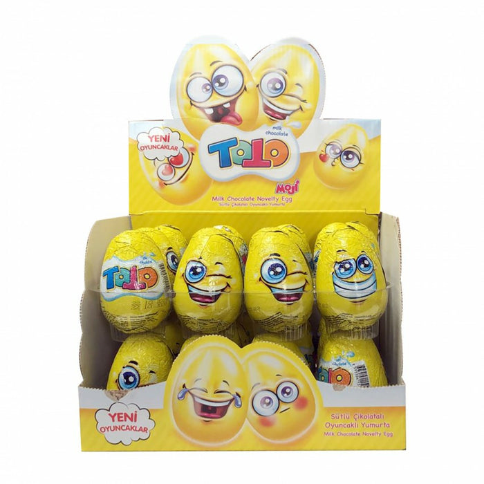 Toto Chocolate Surprise Egg 50Gr