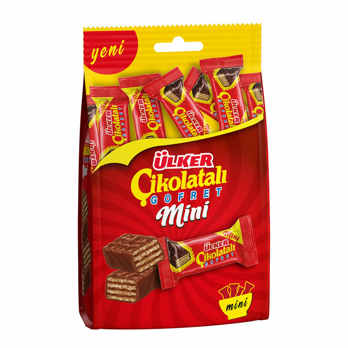 Ulker Mini Chocolate Wafer Pack 82 gr