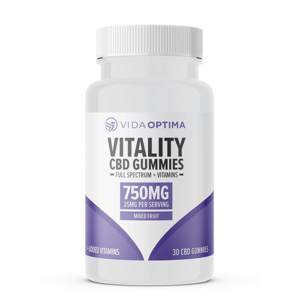 750mg Vitamin CBD Gummies by Vida Optima-Bloom Society