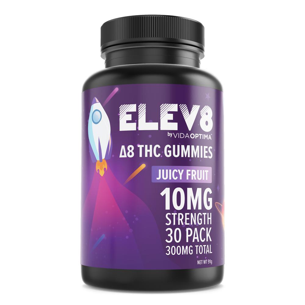 Elev8 Delta 8 THC Gummies-Bloom Society