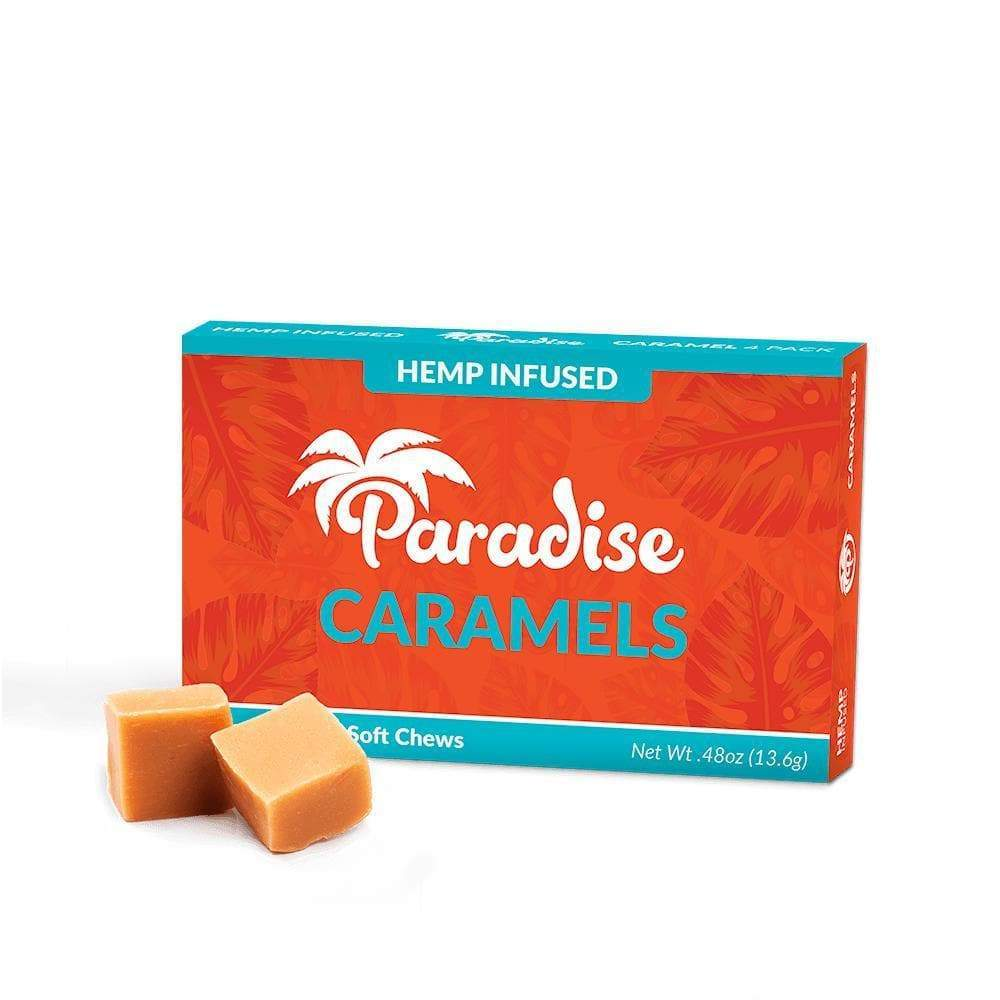 CBD Caramels 4pack (40mg)-Bloom Society