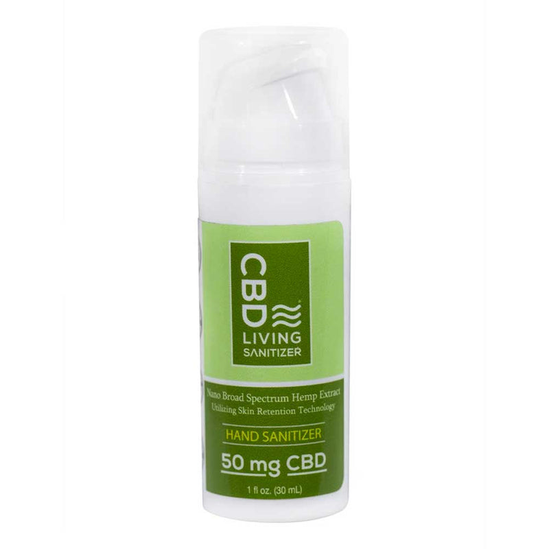 CBD Hand Sanitizer by CBD Living, 50mg-Bloom Society