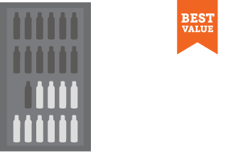 Large flat rate box $20 ships 14-24 bottles