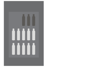 Medium flat rate box $15 ships 3-13 bottles