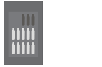 Medium flat rate box $15 ships 3-12 bottles